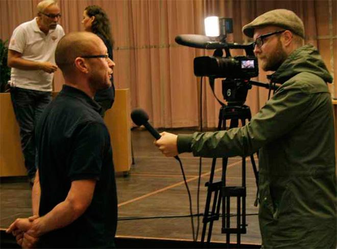Här intervjuas Anders Lasses.
