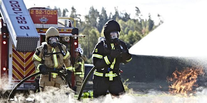 Friska brandmän