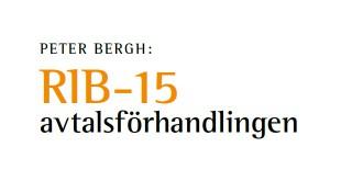 RiB-15 avtalsforhandling