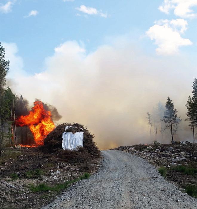 Branden i Västmanland
