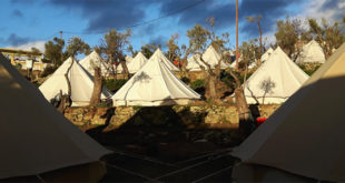 Volontärarbetare bland flyktingar på Lesbos