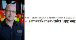 Nytt drag under galoscherna i Dala Mitt – samverkansavtalet uppsagt!