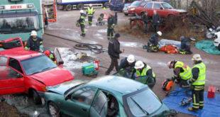 Politiker – och brandmän för en dag