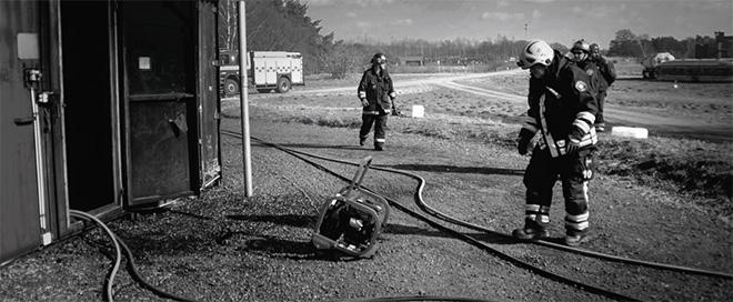 Deltidsbrandmän i Revinge