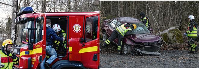Trafikolycka i Lönsboda