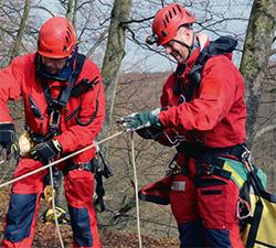 Avancerad räddning på hög höjd