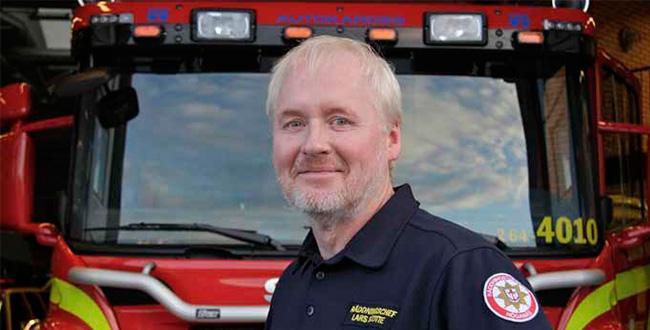 Räddningschef Lars Scotte