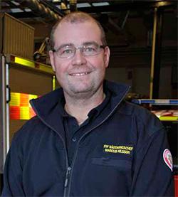 Marcus Nilsson, stf räddningschef