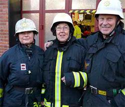Politiker och brandmän