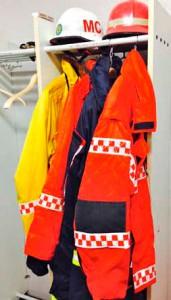 Fina kläder för räddningschefen