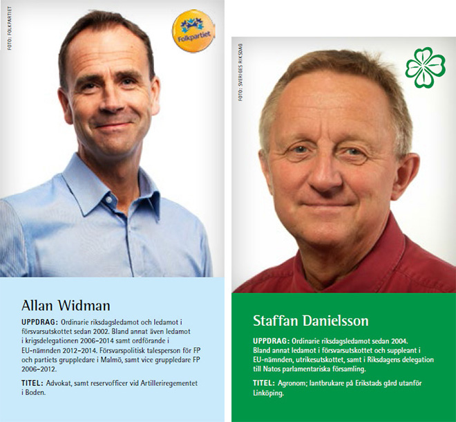 Allan Widman och Staffan Danielsson