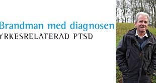 Brandman med PTSD