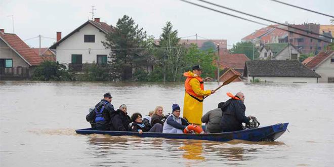 Naturkatastrofen i serbien