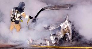 Risker vid bilbränder