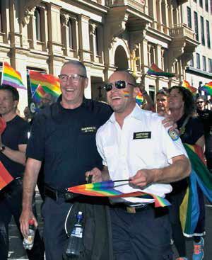 Räddningstjänsten på Pride