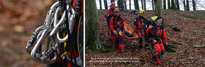 Avancerad räddning i Höganäs