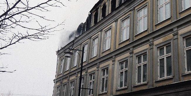 Brand i Arvika